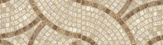 A beautiful mosaic floor