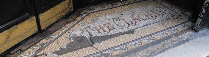 A mosaic in ruins