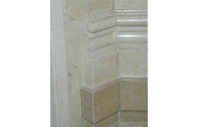 marmo unicredit dopo restauro