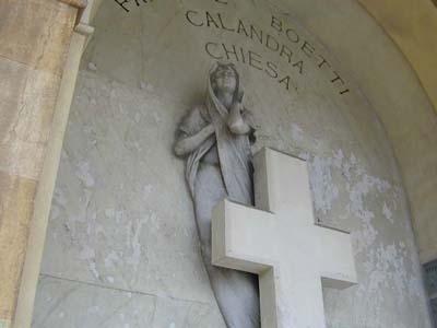 arte sacro cimiteriale