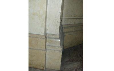 Unicredi Gallarate restauro marmo