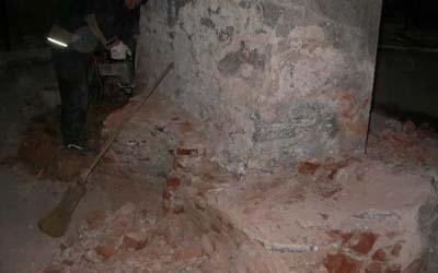 lavori marmo per mausoleo