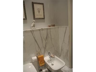 bagno in marmo Bianco Statuario
