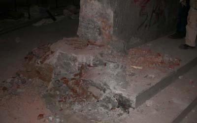 restauro blocchi marmo
