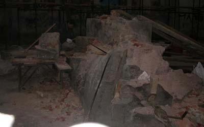 restaurazione marmo