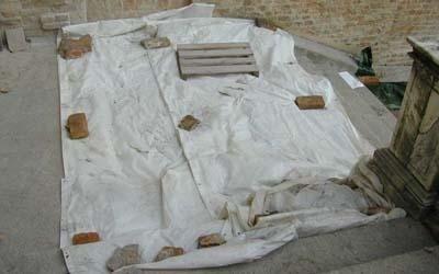 restauro marmo