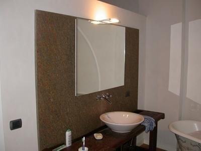 bagno in pietra di Luserna