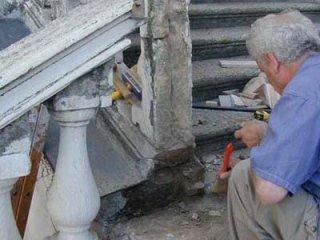 restauro con marmo