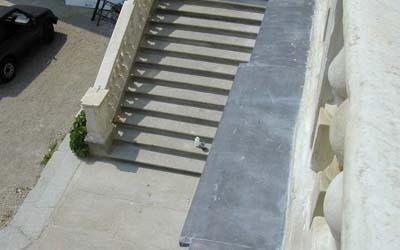 scalinata castello govone