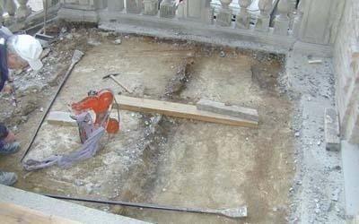lavori di restauro