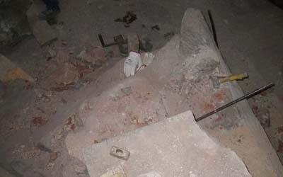 restaurazione mausoleo