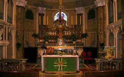 altare chiesa san giacomo