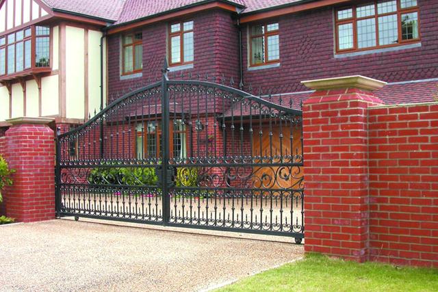 Sliding Iron Domestic Gate