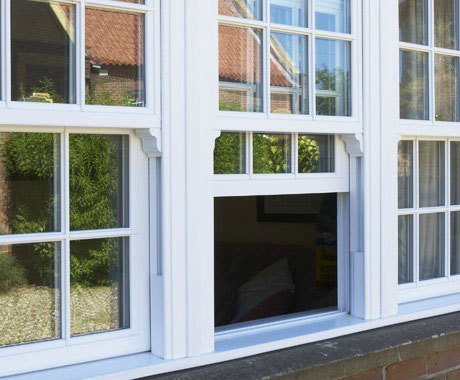 Sliding secondary windows