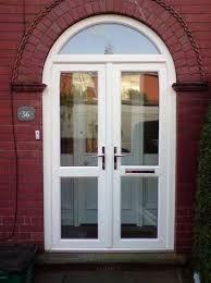 Door glass work