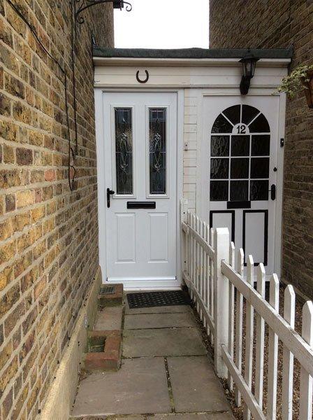 Residential door glazing