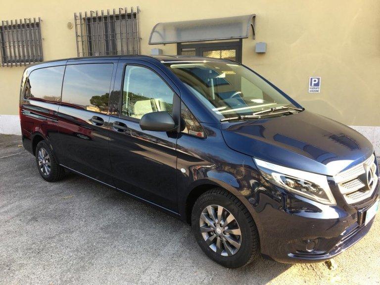 Noleggio Con Conducente -  MERCEDES BENZ NUOVO VITO MAX 8 PASSEGGERI