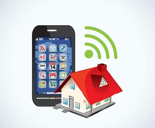connessione wi-fi come rete domestica