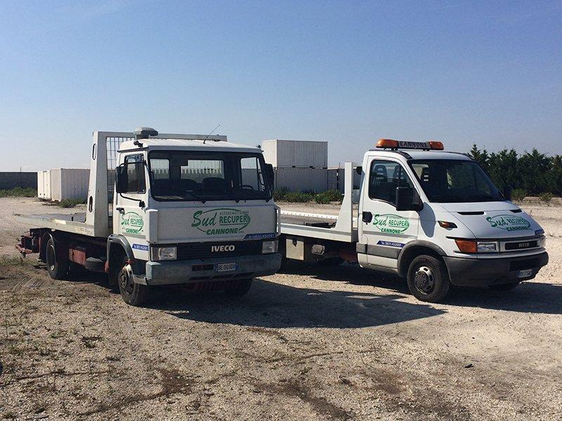 camion sulla soccorso stradale