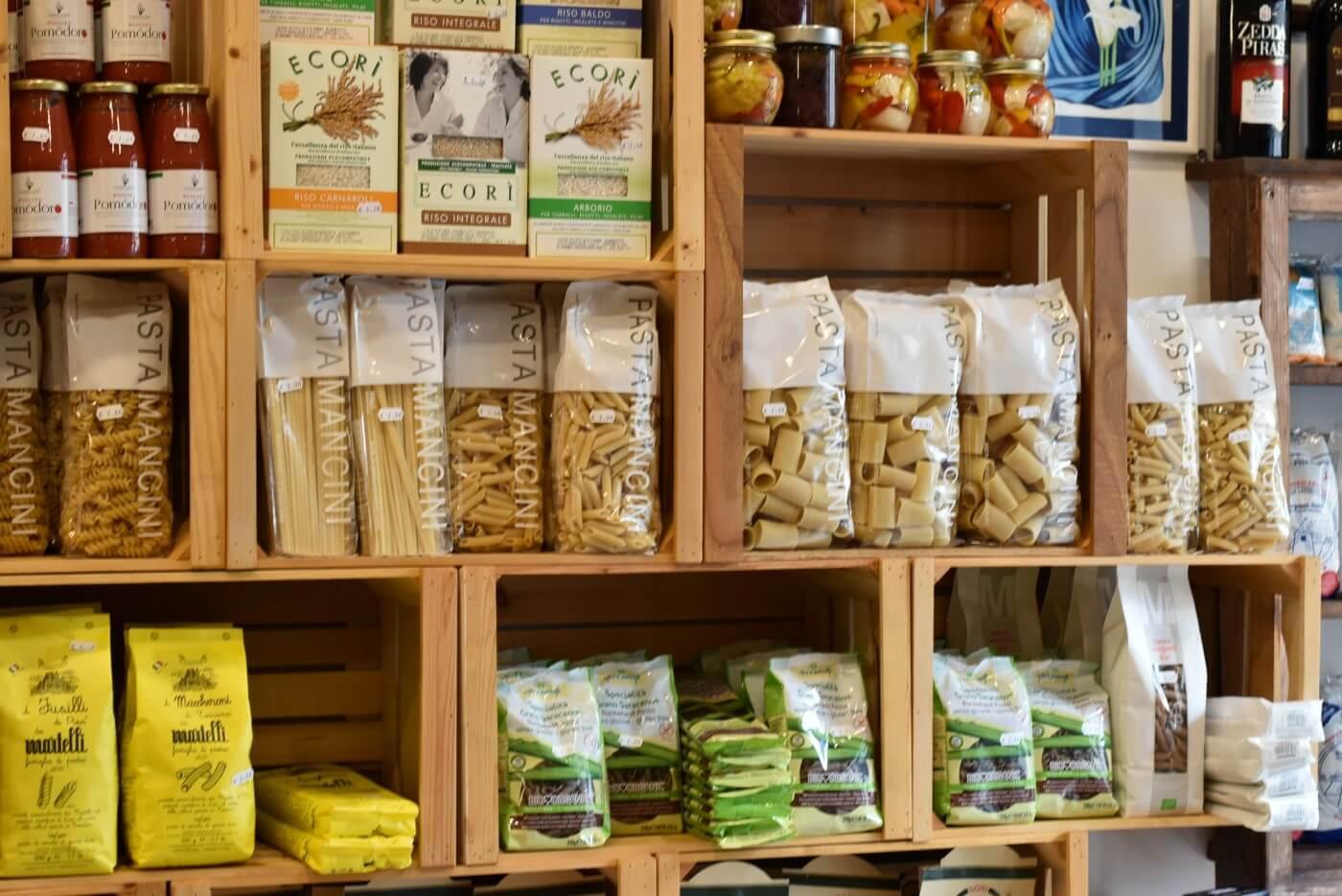 Confezioni di pasta