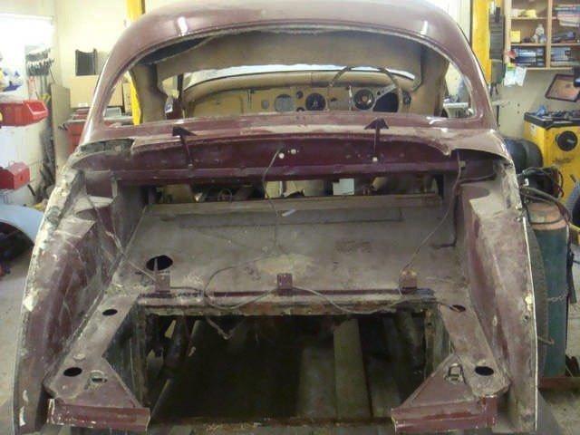 Rear panel work
