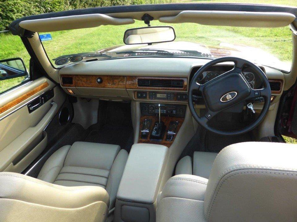 Jaguar car interiors