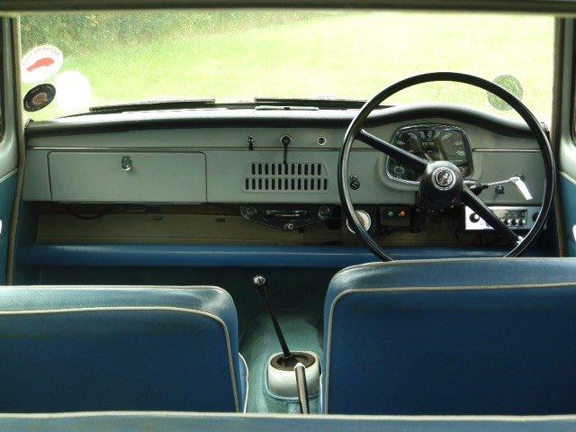 Austin car dashboard