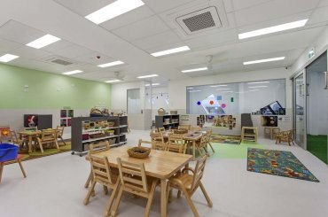 My Cubby House Gold Coast Child Care Centres Activity Facility Brown Table and Chair