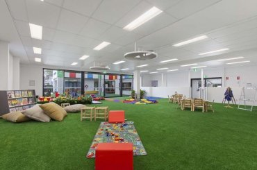 My Cubby House Child Care Centres Gold Coast Activity Facility Playground with Green Carpet