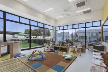 My Cubby House Child Care Centres Gold Coast Activity Facility with White Wall and Glass Window
