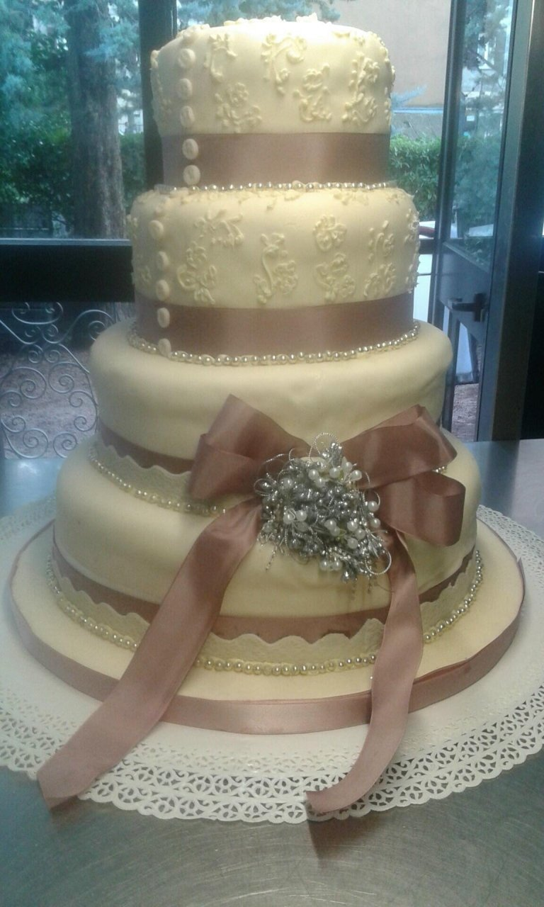 wedding cake pizzi e perle