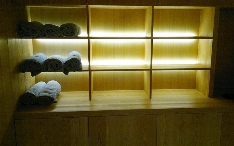 progetto sauna