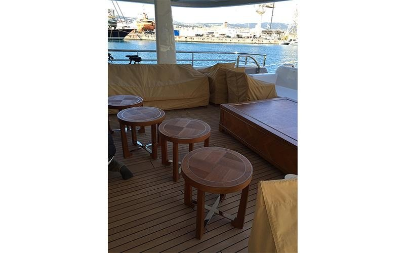Arredamento yacht
