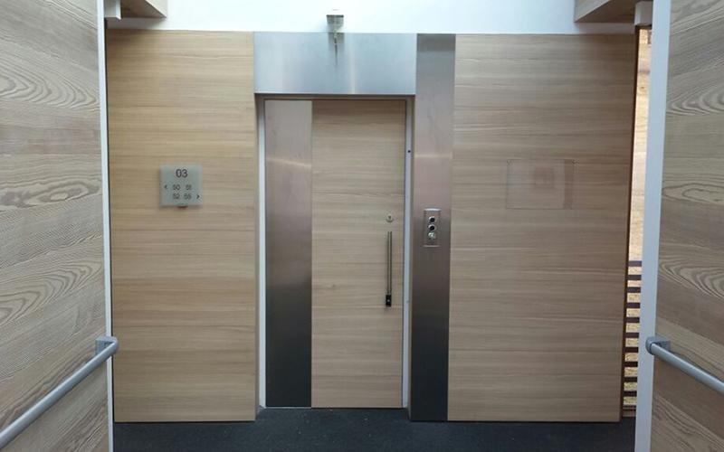 progetto ascensore hotel