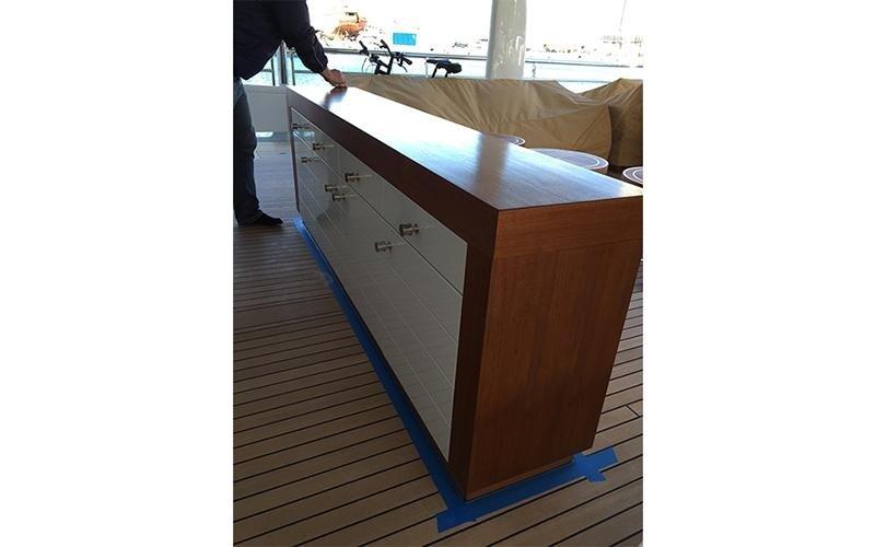 arredamento barca