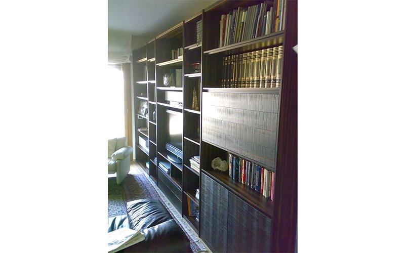 Librerie in ebano