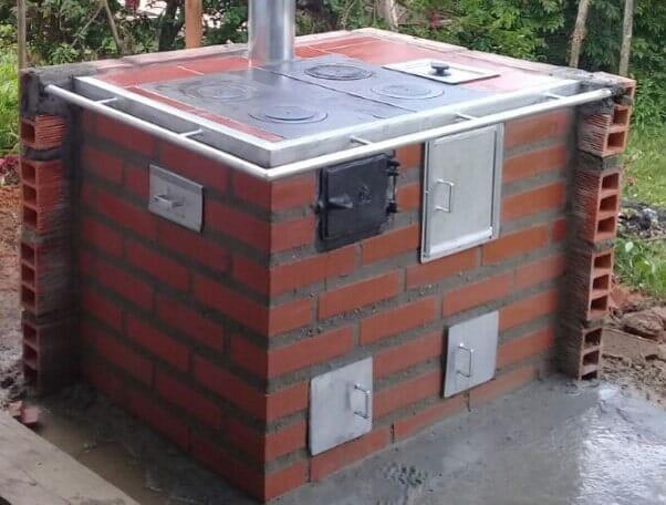 Suministro e Instalación Estufas de leña eficientes