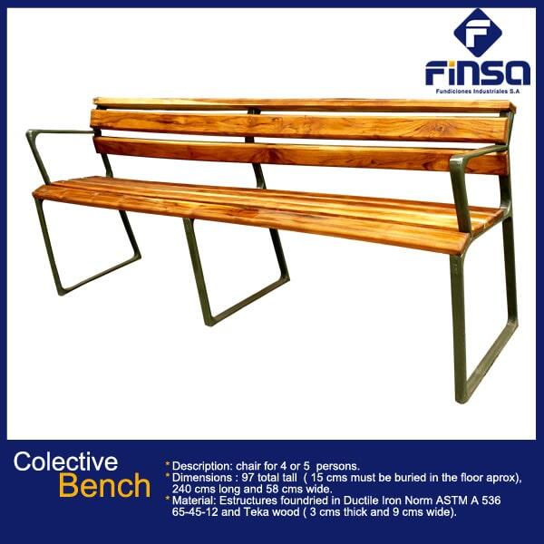 Fundiciones Industriales S.A.S - Colective Bench