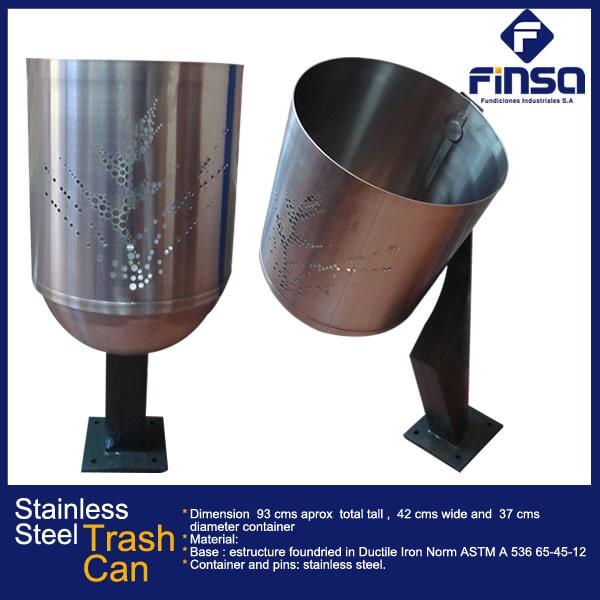 Fundiciones Industriales S.A.S - Trash Can