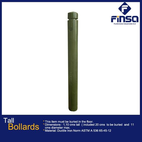 Fundiciones Industriales S.A.S - Tall Bollards