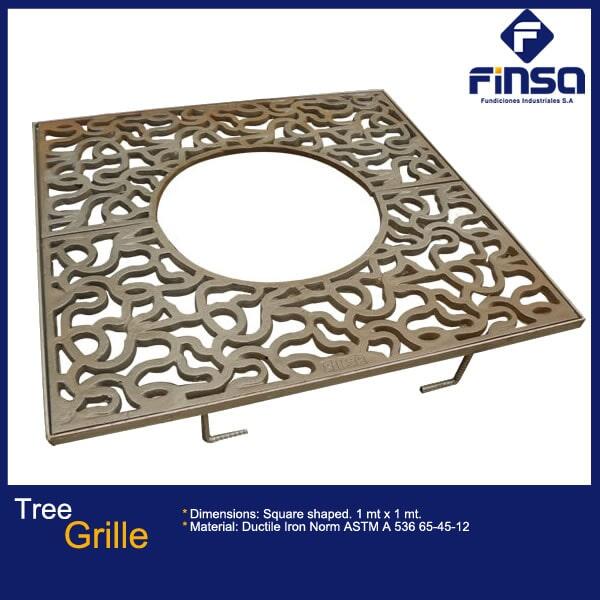 Fundiciones Industriales S.A.S - Tree Grille