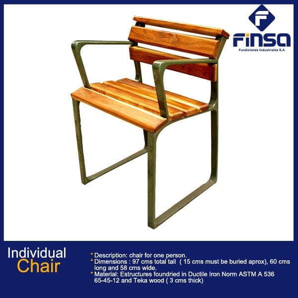 Fundiciones Industriales S.A.S - Individual Chair