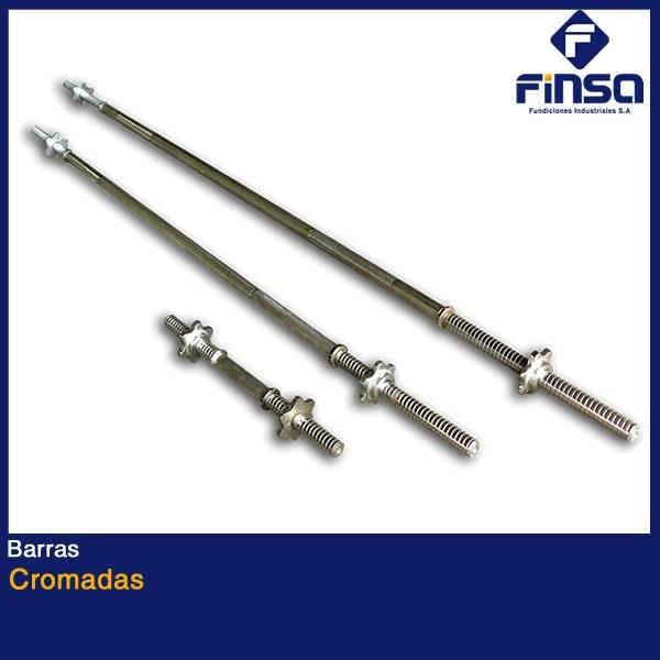 Fundiciones Industriales S.A.S - Barras Cromadas