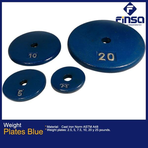 Fundiciones Industriales S.A.S - Plates Blue