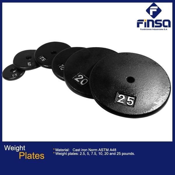 Fundiciones Industriales S.A.S - Weigth Plates