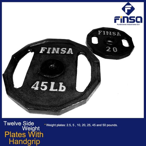 Fundiciones Industriales S.A.S - Plates With Handgrip
