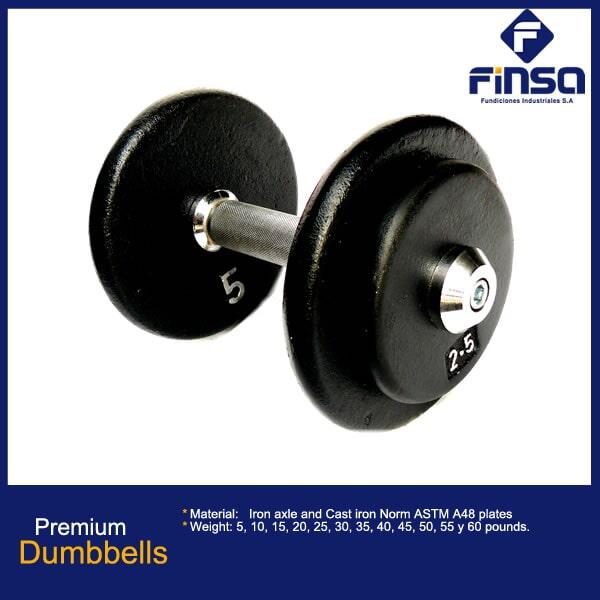 Fundiciones Industriales S.A.S - Premium Dumbbells