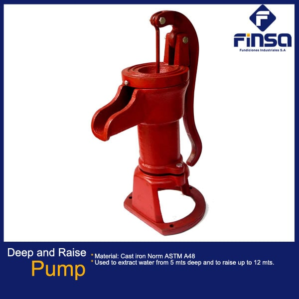 Fundiciones Industriales S.A.S - Deep and raise pump