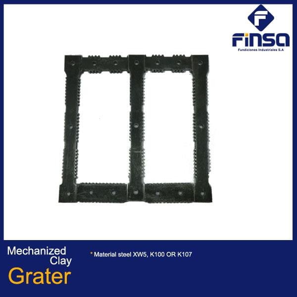 Fundiciones Industriales S.A.S - Mechanized Clay Grater