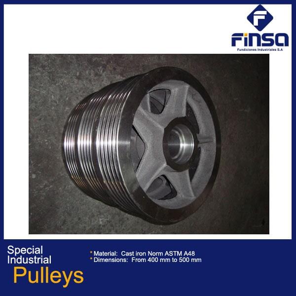 Fundiciones Industriales S.A.S - Special Industrial Pulleys